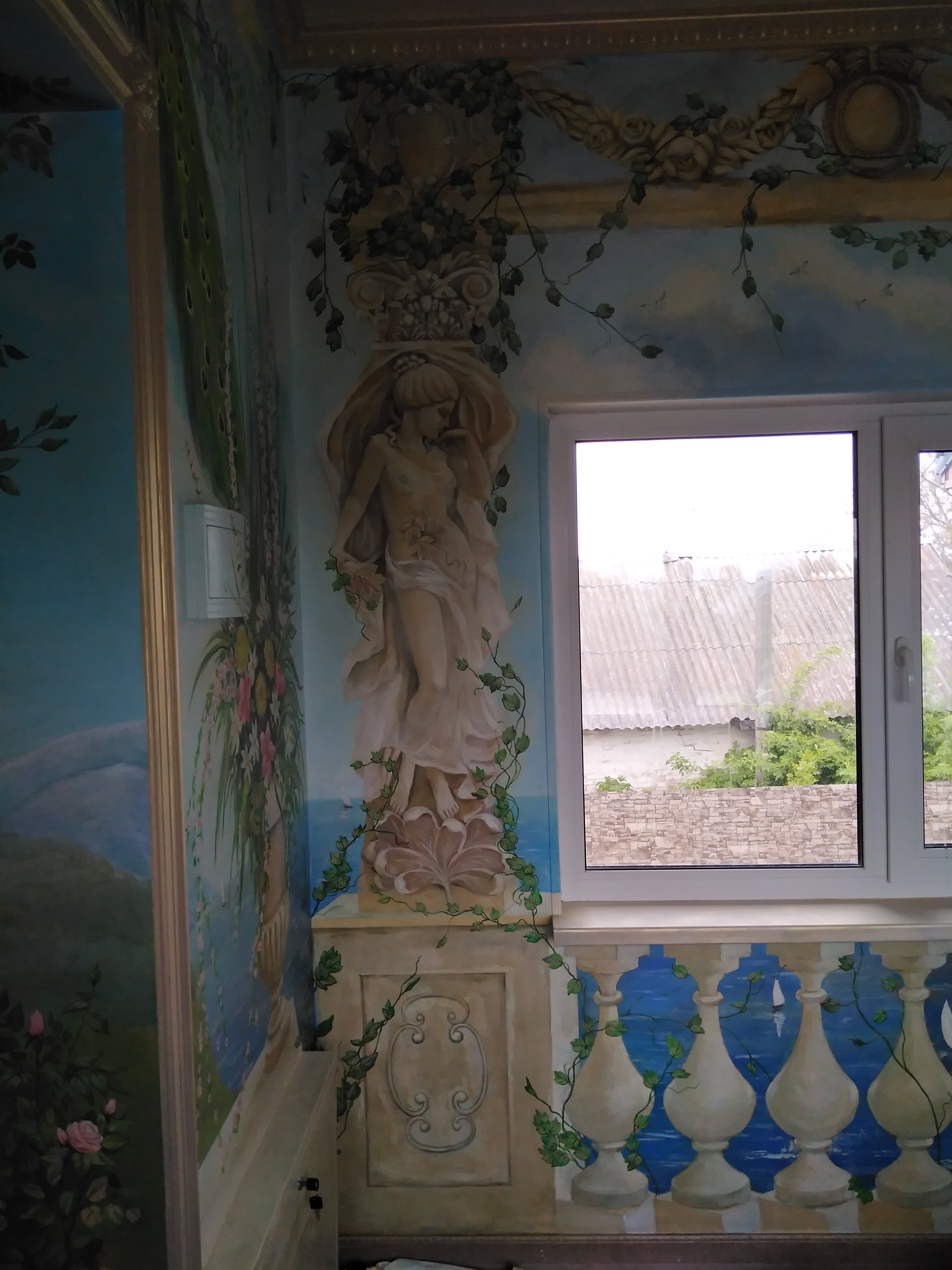 <p>Painting in the interior</p>