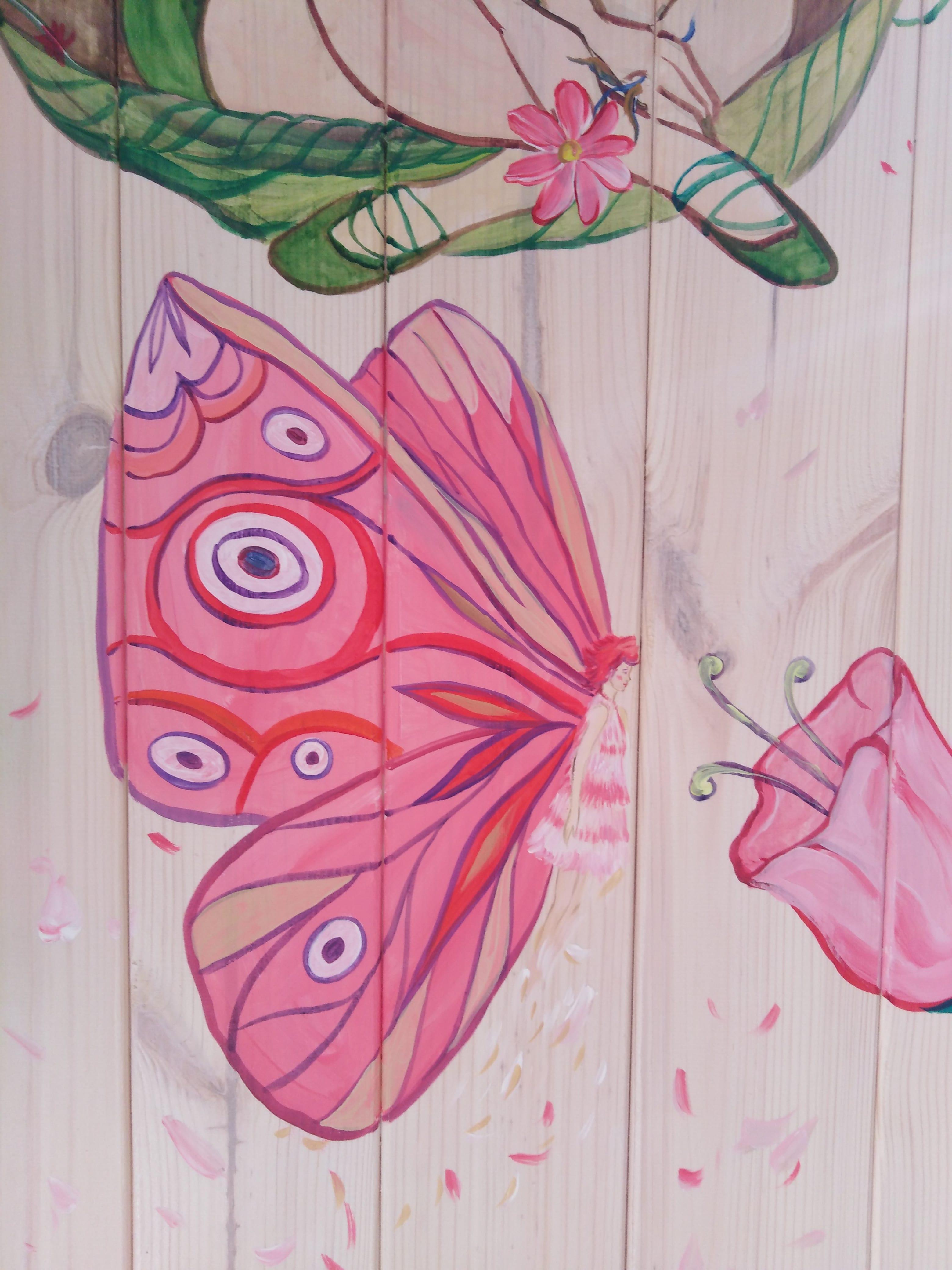 <p>Painting the children's room</p>