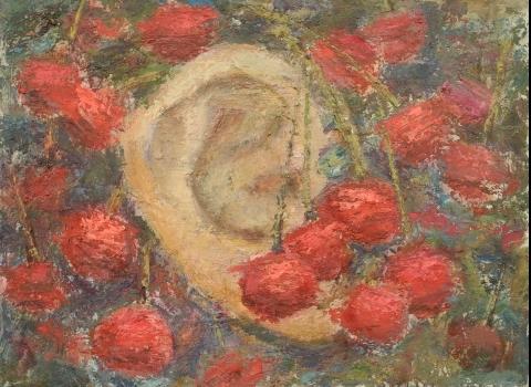 Вишневый сад, 70х90