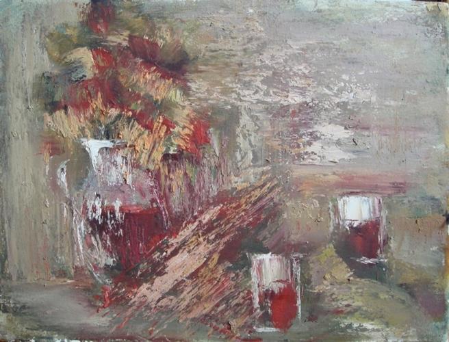 <p><span>Красный натюрморт</span></p>