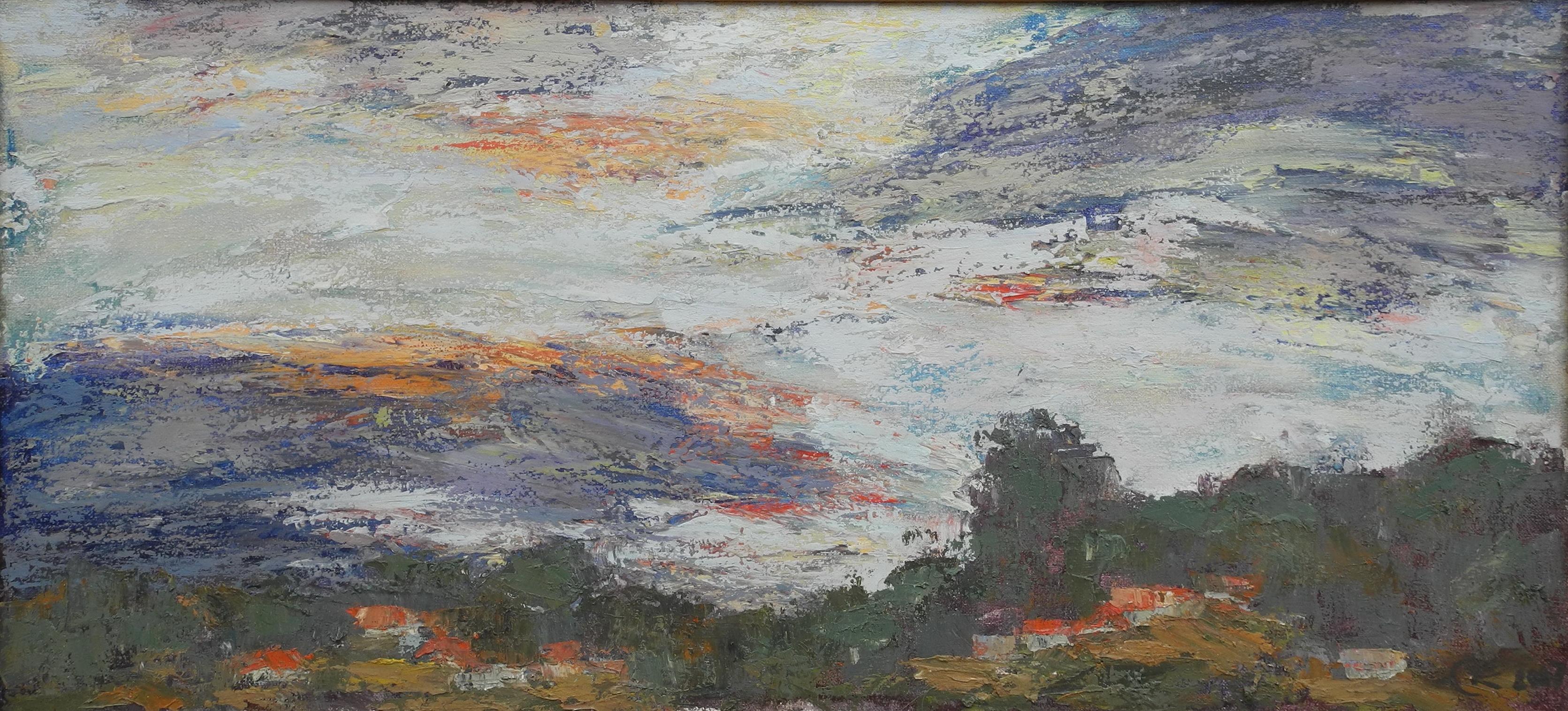 <p>Грозовые облака, 40х80</p>