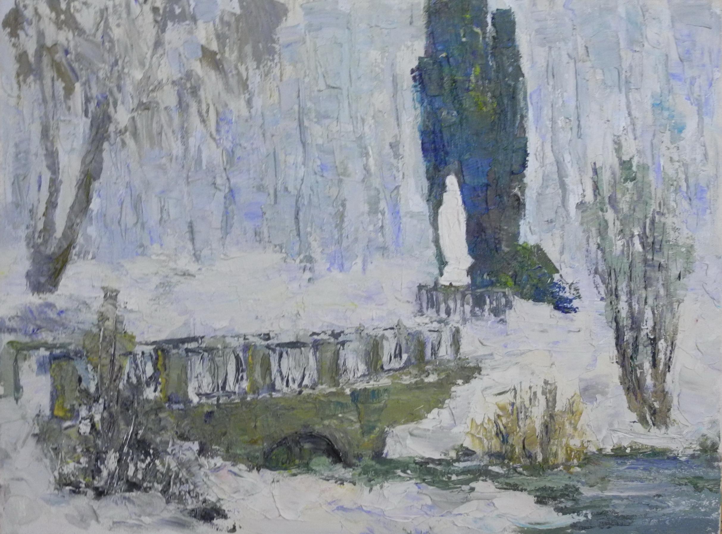 <p>Зимний парк, 45х60</p>