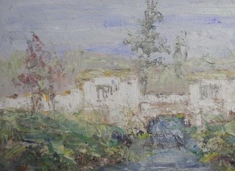 Руины, 40х70