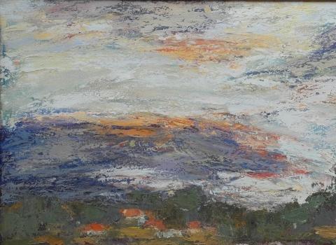 Грозовые облака, 40х80