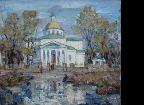 Преображенский собор после дождя