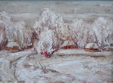 Пирогово зимой