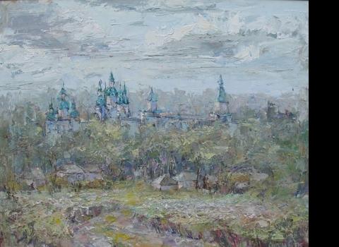 Весна ,холст , масло, 2010