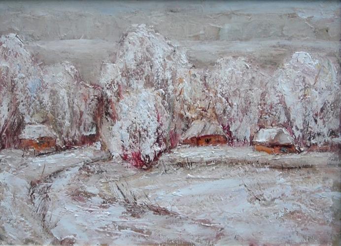 <p><span>Пирогово зимой</span></p>